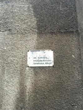 Podwórko w kamienicy, Warszawa